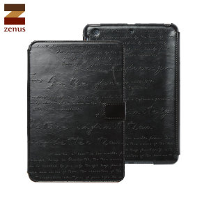 Zenus Lettering Diary iPad Mini 3 / 2 / 1 - Black