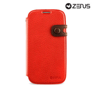 Zenus Masstige Color Edge Diary Series for  Samsung Galaxy S4 - Red