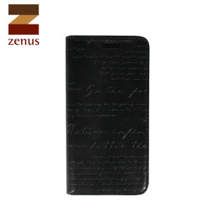 Zenus Masstige Lettering Diary Series for Huawei Ascend P6 - Black