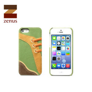 Zenus Masstige Sneakers Bar Case for iPhone 5S / 5 - Green