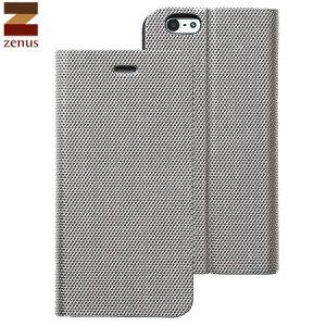 Zenus Metallic Diary iPhone 6S / 6 Case - Silver