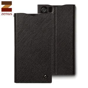Zenus Minimal Diary Case for Sony Xperia Z1 - Black