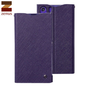 Zenus Minimal Diary Case for Sony Xperia Z1 - Purple