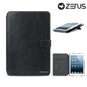 Zenus Neo Classic Diary for iPad Mini 3 / 2 / 1 - Dark Grey