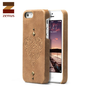 Zenus Retro Vintage Bar Case for iPhone 5/5S - Vintage Brown