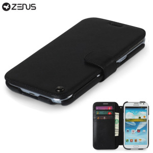 Zenus Samsung Galaxy Note 2 Minimal Diary Series Case - Black