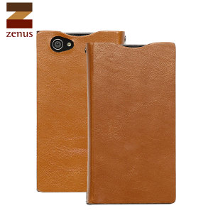 Zenus Signature Diary Case for Sony Xperia Z1 Compact - Sand Beige