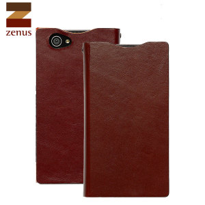 Zenus Signature Diary Case for Sony Xperia Z1 Compact - Wine