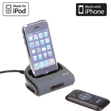 iphone remote control dexim av dock station with remote for iphone ipod 12188