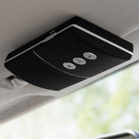 kit mains libres voiture bluetooth olixar clip and talk multipoint