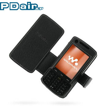 pdair leather book case sony ericsson w960i rh mobilefun co uk