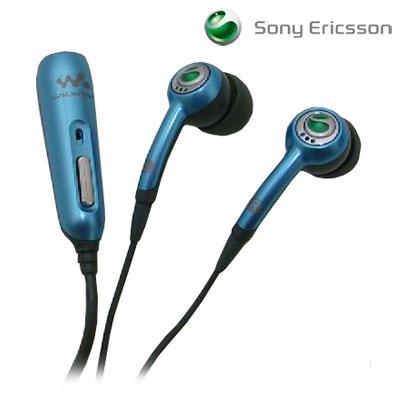 Sony Ericsson Stereo Portable Handsfree HPM 70 Blue