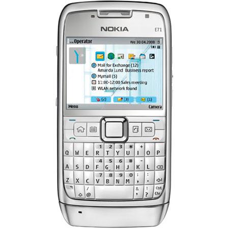 sim free nokia e71 white steel rh mobilefun co uk