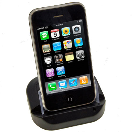426b6703fa2ab4 Apple iPhone 3GS / 3G USB Desktop Sync & Charge Cradle