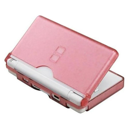 crystal case nintendo ds lite pink. Black Bedroom Furniture Sets. Home Design Ideas