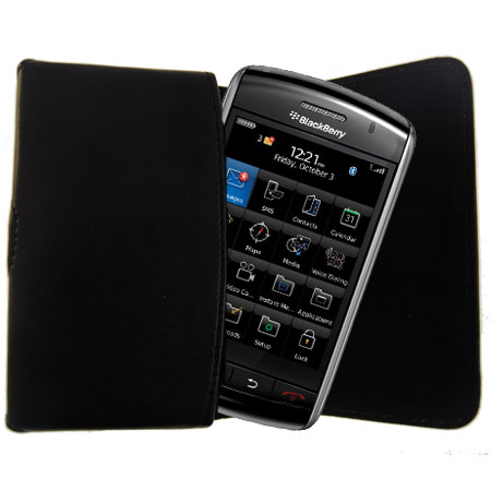 BlackBerry Storm2 / Storm Carry Pouch - Black
