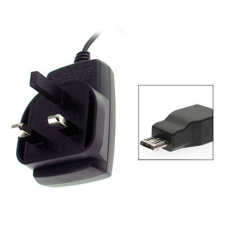 Micro USB UK Mains Charger