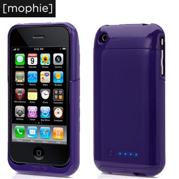 best website fa668 7a811 Mophie Juice Pack Air for iPhone 3GS / 3G - Purple
