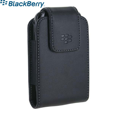 Housse en cuir blackberry curve 8520 pitch black hdw for Housse blackberry curve