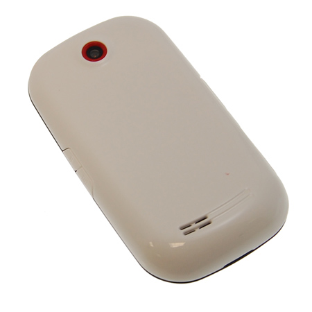 Samsung Genio Touch Back Cover - White