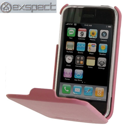 iphone 3gs cases exspect iphone 3gs 3g leather flip pink 10828