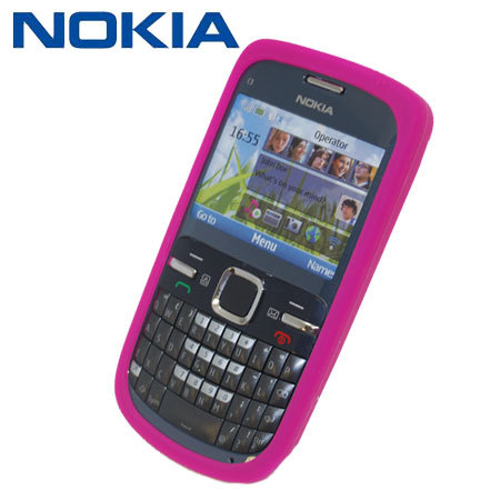 coque silicone nokia c3 nokia cc 1004 rose. Black Bedroom Furniture Sets. Home Design Ideas