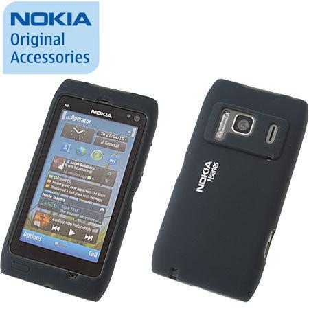the latest 6fa3d 2ad1b Nokia Silicone Cover CC-1005 For Nokia N8 - Black