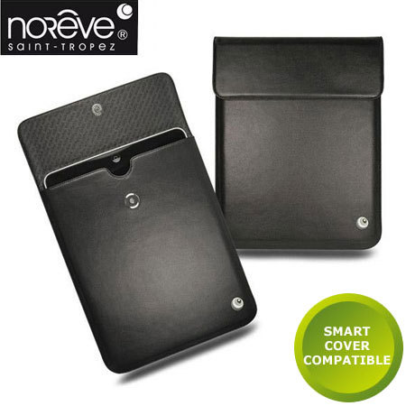 Noreve Leather Sleeve for Apple iPad 2 / iPad - Black