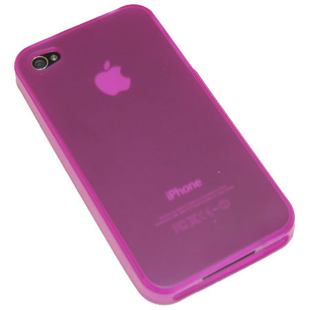 FlexiShield Skin For The iPhone 4 - Pink