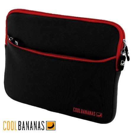 Cool Bananas RainSuit P2 Neoprene Sleeve iPad - Red