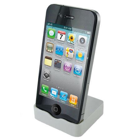 dock iphone 4s 4 blanc. Black Bedroom Furniture Sets. Home Design Ideas