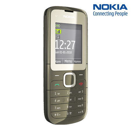 sim free nokia c2 00 dual sim phone. Black Bedroom Furniture Sets. Home Design Ideas