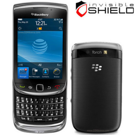 InvisibleSHIELD Full Body Protector - BlackBerry Torch 9800
