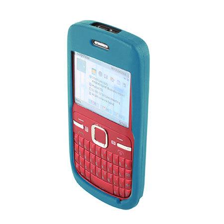 timeless design 074ce 5805e Silicone Case for Nokia C3 - Blue