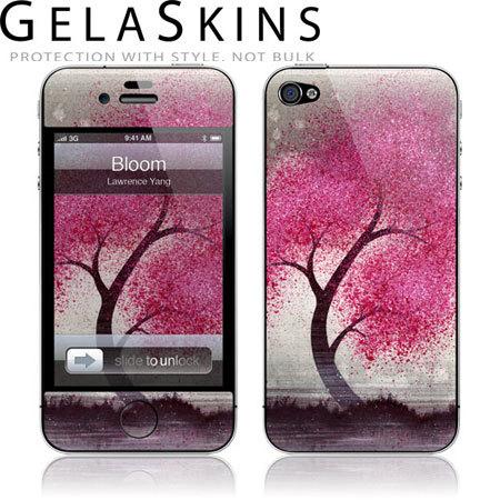 GelaSkins Protective Skin for iPhone 4S / 4 - Bloom