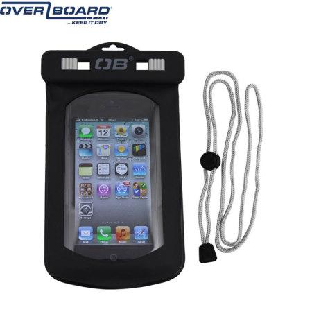 OverBoard Waterproof Phone Case - Black