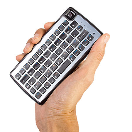 Dual-Connect Slimline Bluetooth Keyboard and Trackpad