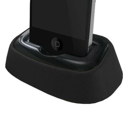 dock bureau l gant iphone 4s 4 noir. Black Bedroom Furniture Sets. Home Design Ideas
