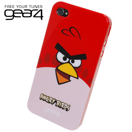 Gear4 Angry Birds Case for iPhone 4 - Red Bird