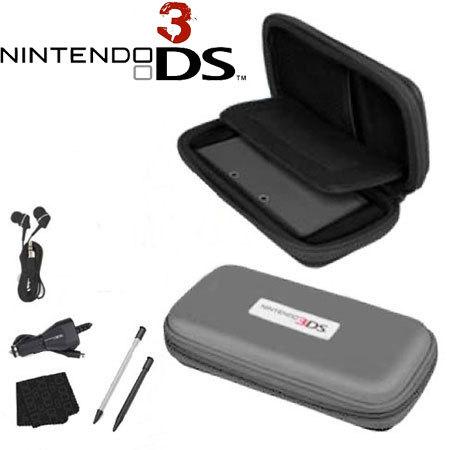 Officially Licensed Nintendo Explorer Starter Kit for Nintendo 3DS - Grey