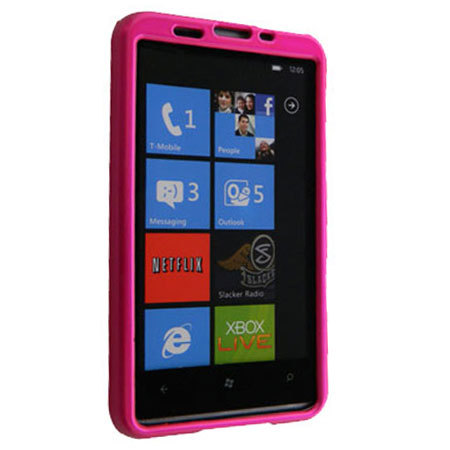ToughGuard Shell For HTC HD7 - Pink