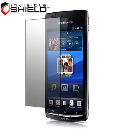 InvisibleSHIELD Screen Protector - Sony Ericsson Xperia arc S / arc