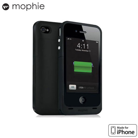 buy popular 3940a 1cb3a Mophie Juice Pack Plus for iPhone 4S / 4 - Black