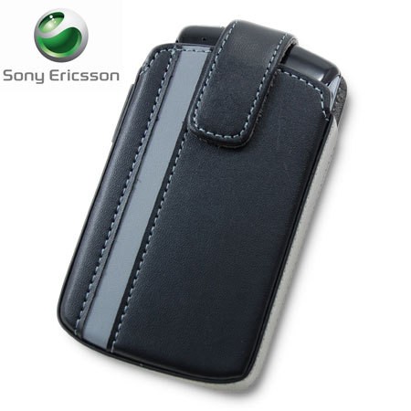 Sony Ericsson SMA7110B Pull Cord Pouch for XPERIA Play - Black/Grey