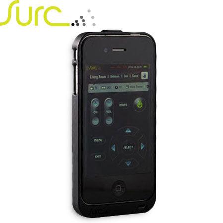 Coque iPhone 4S / 4 Surc télécommande universelle - Noire