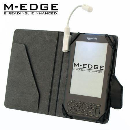 M-Edge Executive Jacket with e-Luminator Light for Amazon Kindle - Black