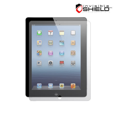 InvisibleSHIELD Screen Protector - Apple iPad 4 / 3 / 2