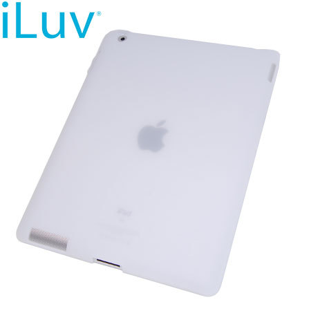 iLuv Flex-Gel TPU Jelly Case for iPad 2 - White