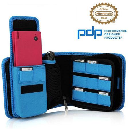 PDP Nintendo 3DS Pull n Go Tasche in Blau