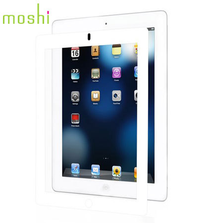 Moshi iVisor AG Anti Glare Screen Protector for iPad 4 / 3 / 2 - White
